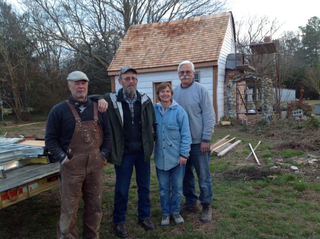 Webb Cabin Restoration Team photo